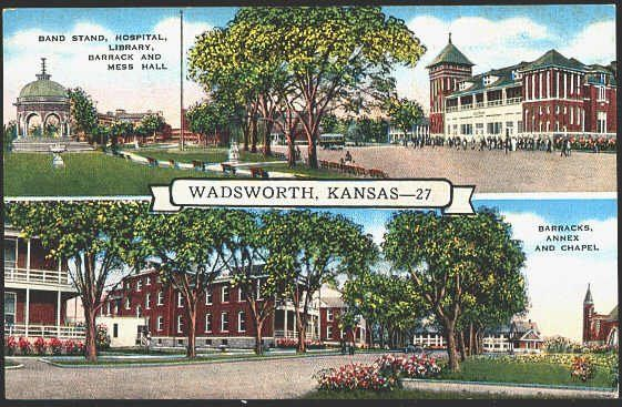 Before The Va Wadsworth Old Soldiers Home Leavenworth Wadsworth Hospital