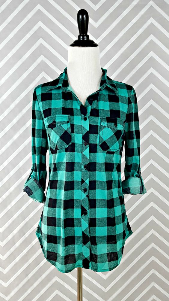 Pinterest the world s catalog of ideas for Country girl flannel shirts