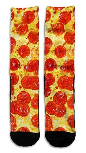 Pepperoni Pizza - Custom Elite Style Athletic Sport Socks... https://www.amazon.com/dp/B018HGX42Y/ref=cm_sw_r_pi_dp_L04zxbTVT4E1R