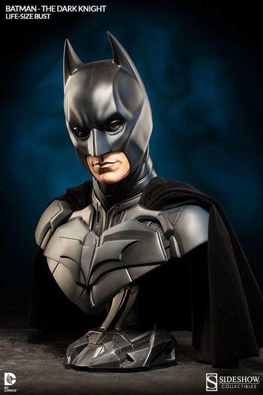 Pré-Encomenda:  The Dark Knight Trilogy Bust 1/1 Batman 74 cm  Para mais informações clica no seguinte link: http://buff.ly/VxVQSi  #ToyArt #SideshowCollectibles #Batman #TDK