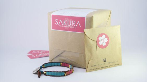 Packaging Sakura :: Handcrafted Jewelry www.sakura-handcraftedjewelry.cl