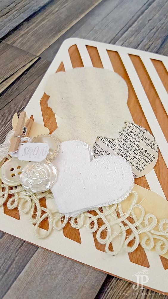 valentines wood veneer and papercraft on pinterest