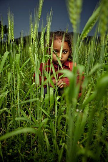 Orphan girl in India as seen by photographer Martin Prihoda.