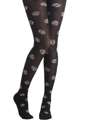 Cause and Domino Effect Tights, #ModCloth