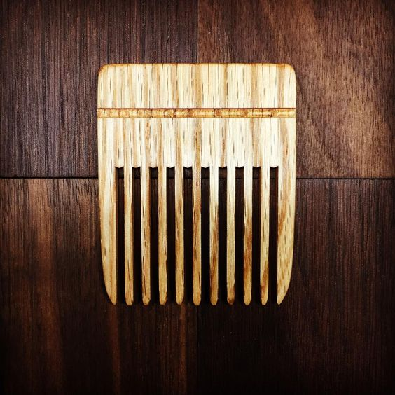 Wooden Beard Comb (neat, compact and pocket sized)