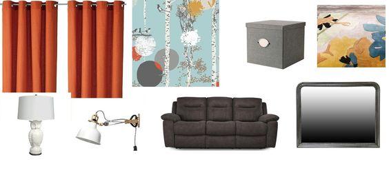Hmm, do i do this? already got the sofa, curtains, wall lamp...