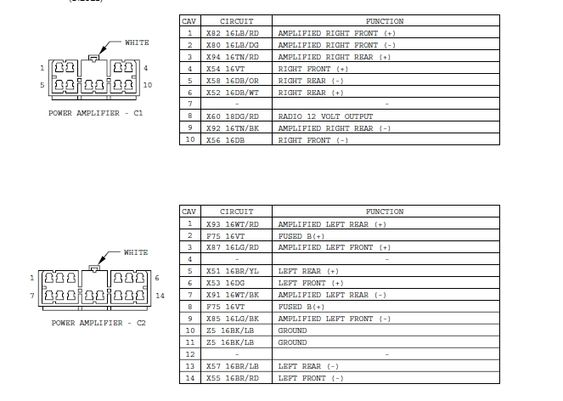 Great 97 Jeep Grand Cherokee Infinity Gold Wiring Diagram