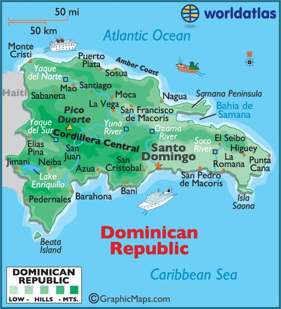 3. Sammy es de la República Dominicana.