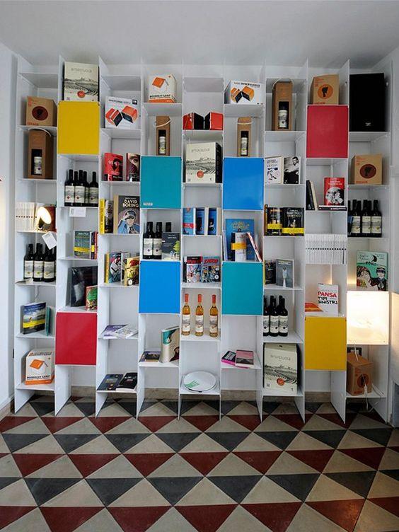 Estante secional de chapa PRIMA by Officine Tamborrino design Licio Tamborrino