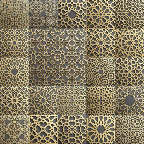 T145067 Topic Islamic Pattern Islamic Motifs Islamic Patterns