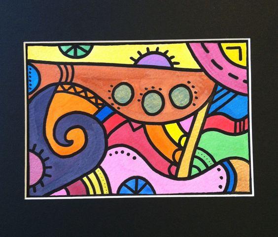 Watercolor - OsborneOriginals #funkyart