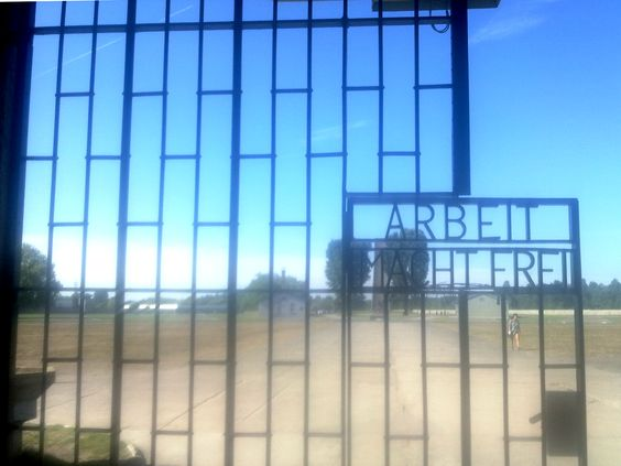 'Work Makes Free(dom)' Sachsenhausen Concentration Camp