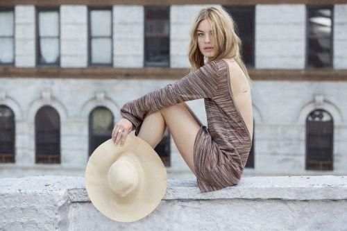 Camille Rowe, New York City © Abbey Drucker