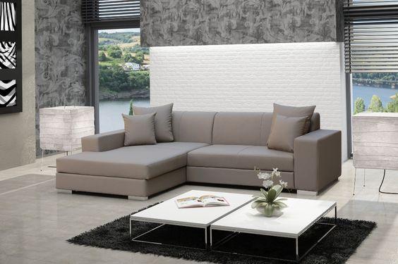 ECKSOFA COUCH MIT SCHLAFFUNKTION  Dieses #Eckofa ist ideal für das #Wohnzimmer, verbindet höchste #Qualitätsansprüche mit einzigartigem Design. Verschiedene #Farbkombination ermöglicht die perfekte Anpassung für jeden #Raum.