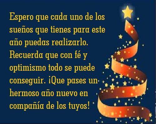 Carta De Felicitaciones De Navidad Y Ano Nuevo.Pin De Sonia Pallares En Mensajes Feliz Ano Nuevo Frases