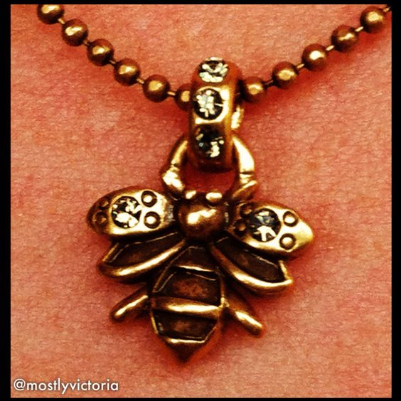 My bee necklace, by Hultquist.  LOVE their pieces ❤    http://www.hultquist-copenhagen.com/cms/en-gb/Frontpage