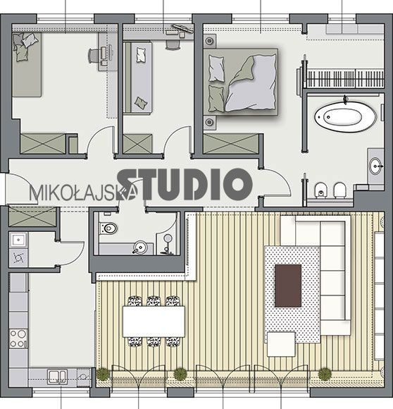 Small Layout Polish Website Translate Into English Floor Plans Layout Small