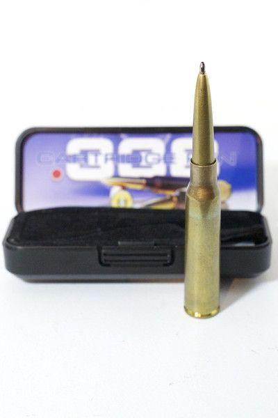 .338 Caliber Cartridge Space Pen