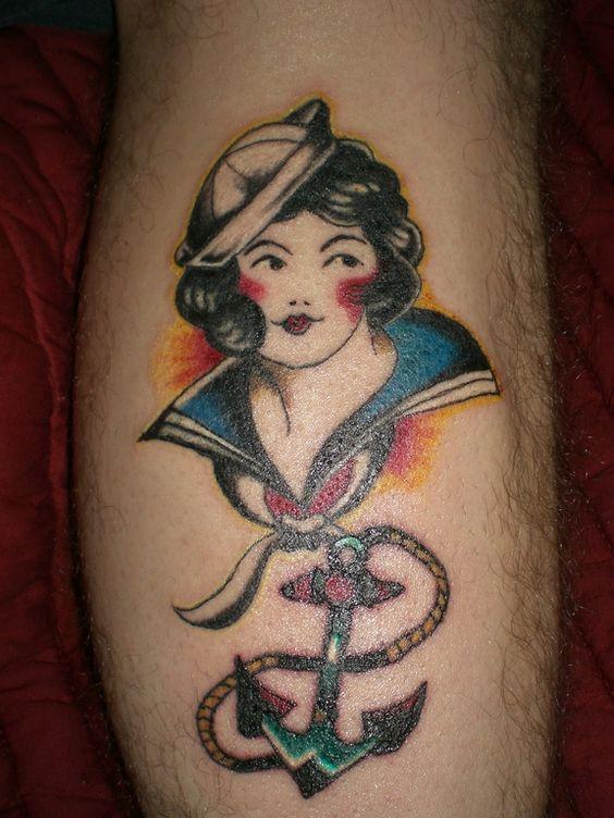 airbrush tattoos sailor - Google Search