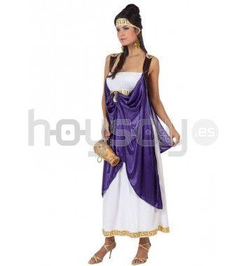 #Disfraz de #romana para #chica #Disfraces #Carnaval