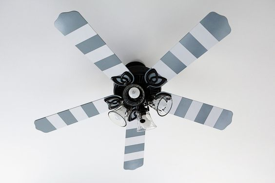 Ceiling Fan Blade Remodel