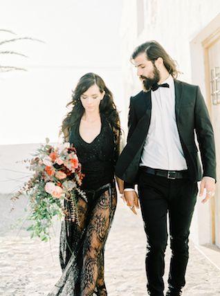 Flamenco wedding dress | Ana Lui Photography | see more on: http://burnettsboards.com/2015/05/edgy-flamenco-wedding-inspiration/