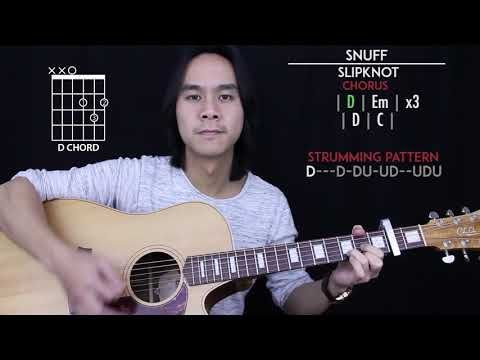 Snuff Guitar Cover Acoustic Slipknot Tabs Chords Youtube Guitar Guitar Tabs Acoustic