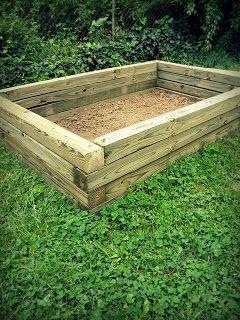 Raised Garden Bed Design.