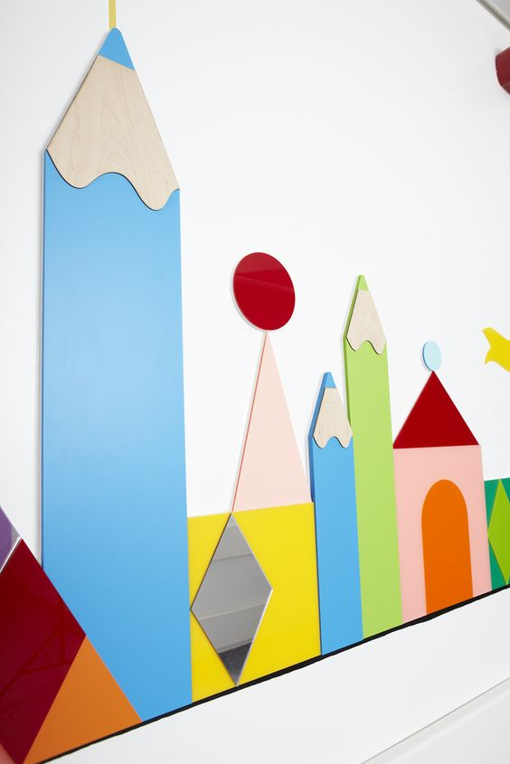Artwork to calm and distract children on their route to surgery in the new Royal London Children's Hospital | por Barts Health NHS Trust