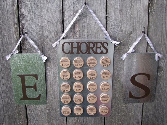 Magnetic Chore Boards