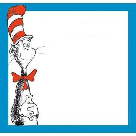 Dr. Seuss Clip Art Border | Organization - Real Classroom ...