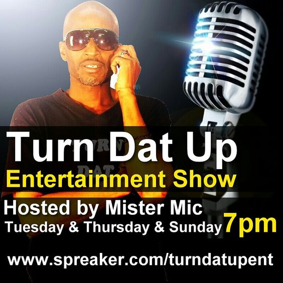 Listen to my podcast/radio show...2nite is throwback thursday...T.D.U.E.Show we play indi artist music...for air play send 2 songs turndatupent@gmail.com
