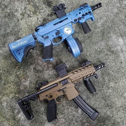 CMMG MK9 And SIG MPX SBR