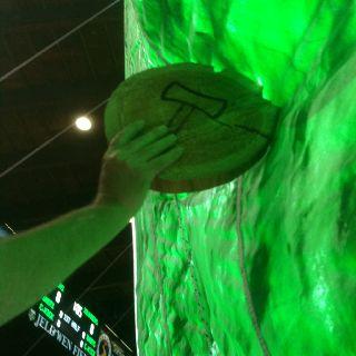 Inside the Portland Timbers Tifo. #rctid