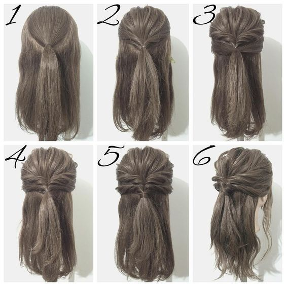 Easy Wedding Hairstyles To Try Yourself At Home Diy Bridesmaid Hair Guest Hair Simple Wedding Hairstyles