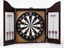 Cabinet Dart Board Including Darts