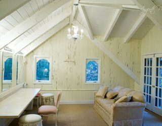 The Woods Chapel: the bridal cottage