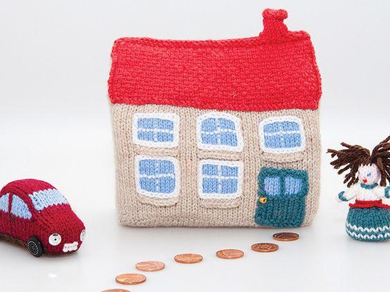 Knit a mini village
