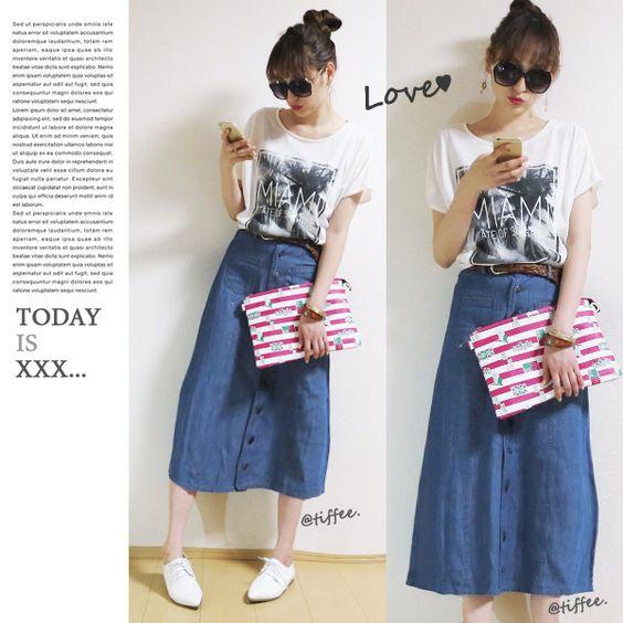 tops / Tiffee Store skirt / Tiffee Store