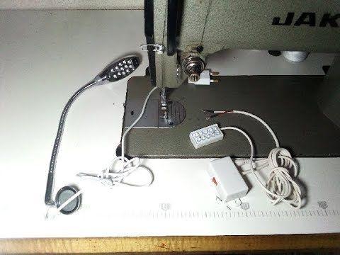 طريقة تركيب مصباح لماكينة الخياطة جميع انواع المصابيح Youtube Sewing Machine Sewing