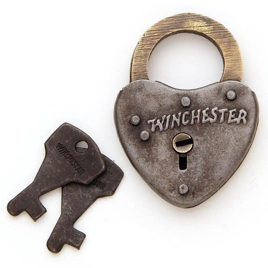 Winchester Heart Shaped Iron Lock Heart Shapes Heart Shaped Lock Brass Plaques