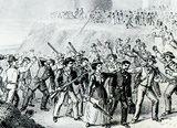 Homestead strikers took Pinkertons prisoner