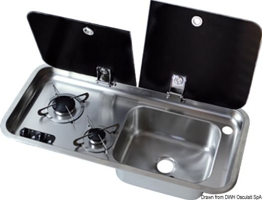 Piano Cottura Con Lavello Cucine Barca Lavelli Lavelli Cucina Piani Cottura