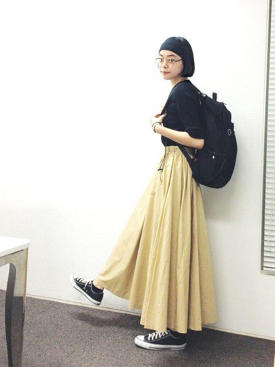 l'atelier du savonのスカートのkanoco