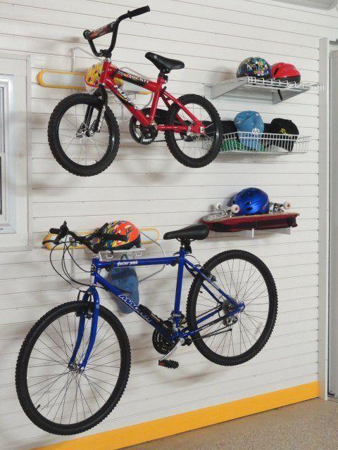 Duo Bike Activity Rack Lifestyle Kit Version I Bike Room