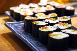 Como fazer sushi frito