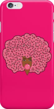 Bubble Gum Fly Iphone case