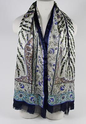 Bursa Ipek Multicolor Silk Printed Designer Scarf https://t.co/Nrff0ijX3L https://t.co/5iyDlUeeqd