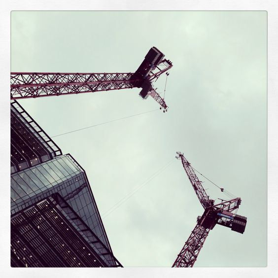 Cranes.... All different but the same.