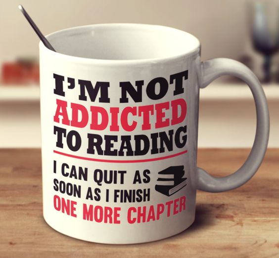 I'm Not Addicted To Reading – mug-empire: